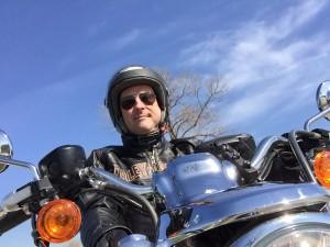 Biker-Selfie